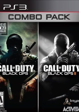 COD BLACK OPS COMBO PACK PS3