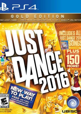 JUST DANCE 2016 GOLD PS4