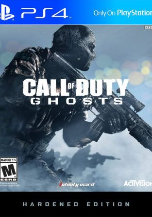 cod ghosts harnered ps4